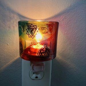 Glass Chakra Nightlight ✨